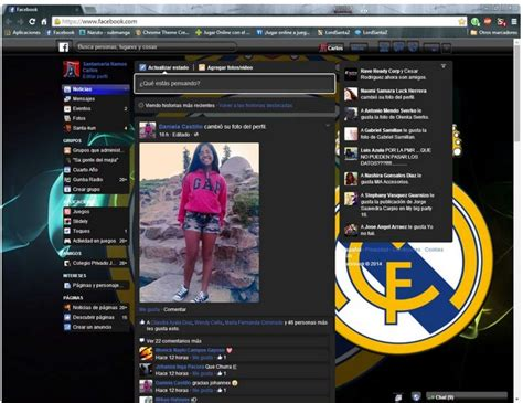 facebook themes and skins real madrid 15 fb themes and skins for a perfect experience