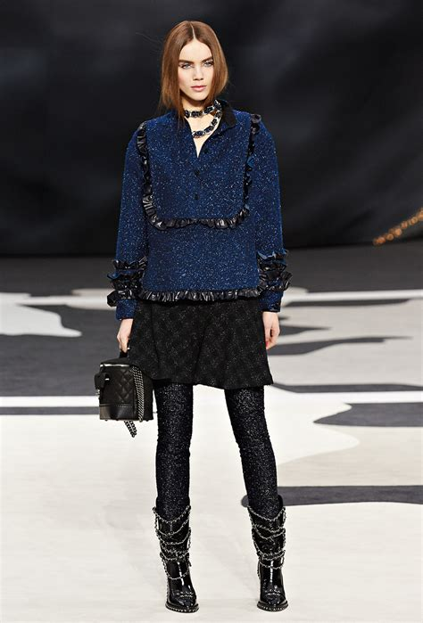 Winter At Chanel by Chanel Fall Winter 2013 14 Womenswear Collection