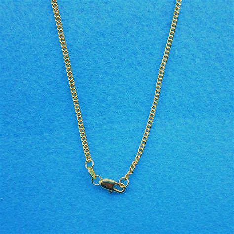 chains for jewelry 1x wholesale jewelry 18k gold filled flat curb