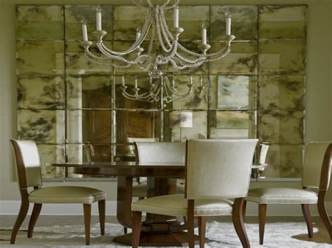 large dining room wall mirrors dining room with wall