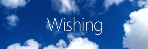 wishing come to christ