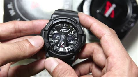 Casio G Shock Ga 201ba casio g shock ga 201 1a black edition