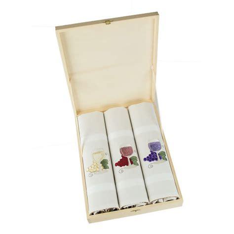 Wine Kitchen Towels by Wine Glasses Leiho Dish Towel Box Set Jan De Luz Linens