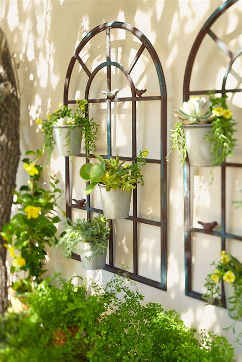 garden wall decoration ideas best 25 wall planters ideas on garden wall
