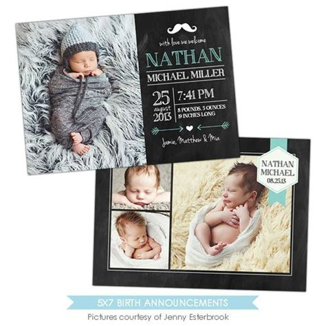 Birth Announcement Template Baby Nathan E902 Birth Announcement Template