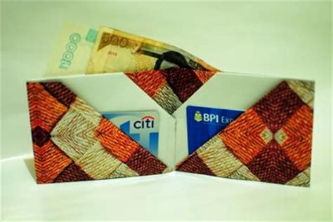 How To Make A Origami Wallet With Pockets - wallet