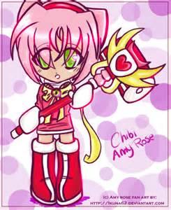 Chibi amy rose by ikuna62 on deviantart