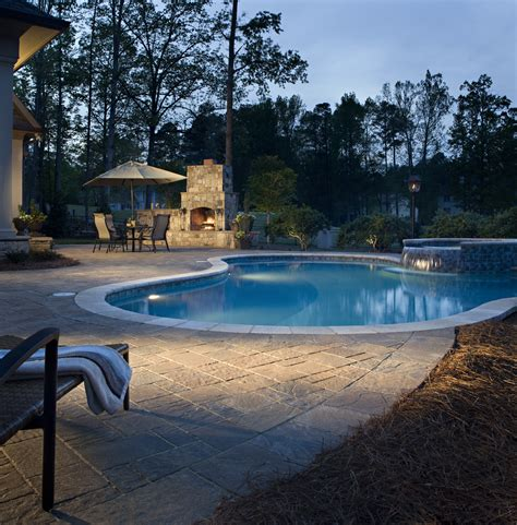 Patio And Pool Hardscapes by Hardscape Ideas Hardscape Pictures For Patio Design