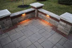Flagstone Fireplace baron landscaping 187 outdoor lighting contractor cleveland