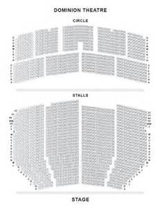 Bi Level Floor Plans dominion theatre london official the bodyguard tickets