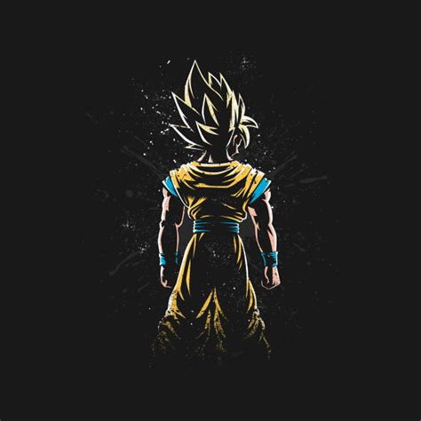 dragon ball z wallpaper portrait check out this awesome saiyan back design on teepublic