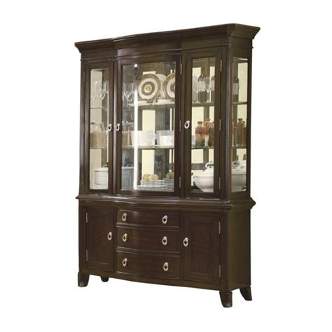 coaster meredith buffet with hutch in espresso 103534