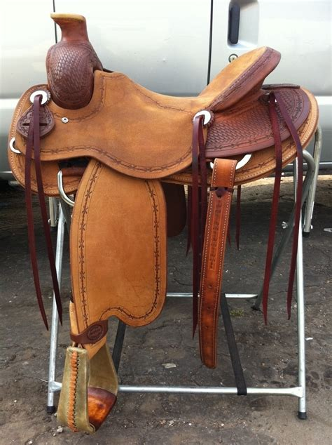 Handmade Ranch Saddles - 16 bowman style ranch saddle j stead saddle co 903