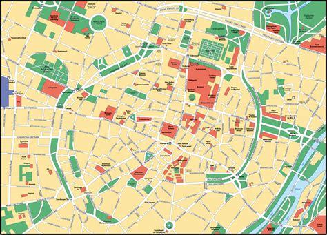 munich germany map of munich size