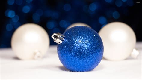 blue christmas bauble wallpaper holiday wallpapers 51149