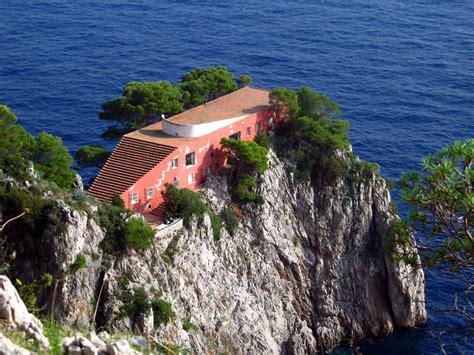 stars houses casa malaparte house capri architectural data by