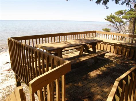 waterfront br private deck access houses for rent in eagle view vacation rental on lake michigan with amazing view
