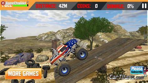 monster truck racing games 3d patriot wheels monster truck 3d games race off road