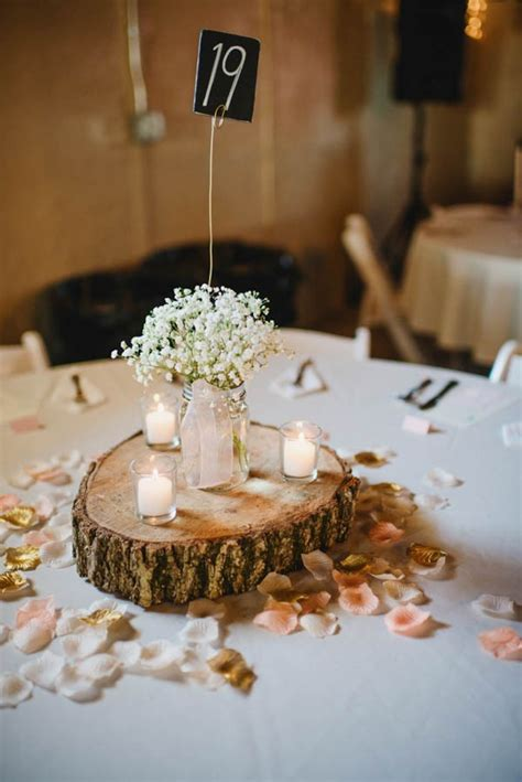 We Re Not Horsing Around This Iowa Barn Wedding Is A Wood Centerpieces For Tables