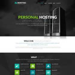 Hosting Site Template by Hosting Templates