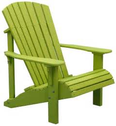 deluxe adirondack chair polywood dutch haus custom