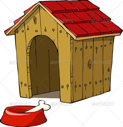 cartoon dog house realistic graphic download ai psd http jquery css de pinterest itmid