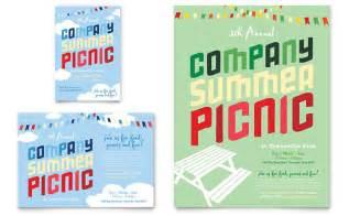 free company invitation templates company summer picnic flyer ad template design