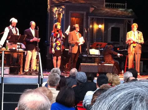the prairie home companion live at the theater