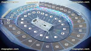 Philips Arena Floor Plan new t mobile arena mgm aeg virtual interactive seating
