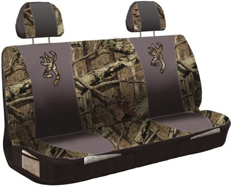 browning pink camo bench seat covers browning universal fit bench seat cover polyester