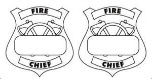printable fireman hat template printable firefighter badge printable fireman badge