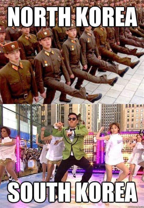 North Korea South Korea Meme - north korea vs south korea funny pics memes