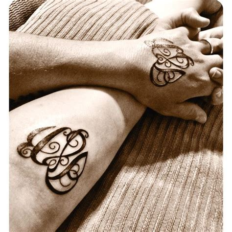 couples initials tattoos 17 best images about tattoos on my boys