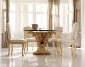 Contemporary Glass Dining Room Tables Minimalist Futuristic Glass Dining Room Tables Chairs