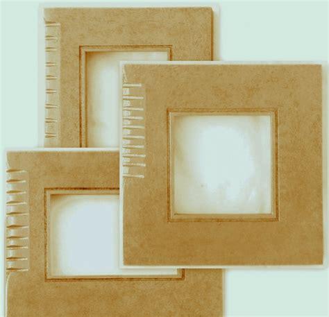 cornici fatte a mano promozione n 3 cornici cornicette stilizzate in legno