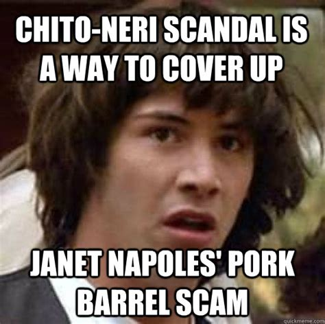 Janet Napoles Memes - chito neri scandal is a way to cover up janet napoles