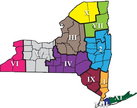 sections of new york nysphsaa gt about nysphsaa gt general information gt sections map