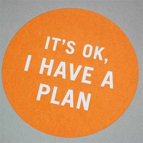 Have a plan | Welcome!