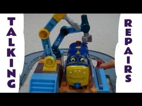 Chuggington Repair Shed by Interactive Chuggington Brewster Koko Calley Pete Irving