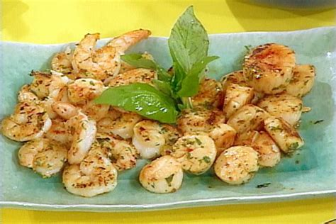 Ina Garten Shrimp by Pan Seared Shrimp And Scallop Skewers Recipe Rachael Ray