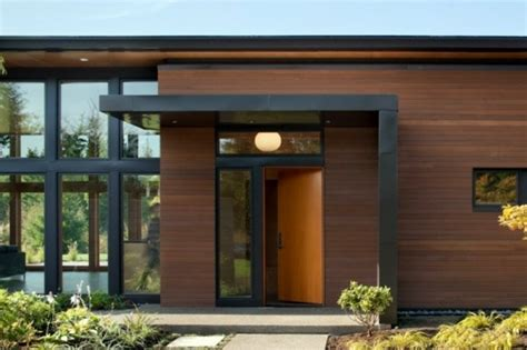 new prairie style home front cantilever modern exterior chicago by west studio modern architecture in the prairie architect house with