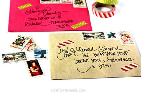 images of christmas envelopes addressing christmas envelopes
