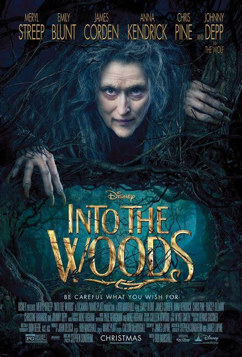 film disney meryl streep disney s into the woods new poster with creepy meryl