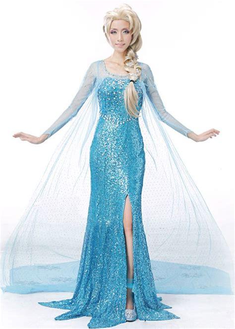 Frozen Gowns Images disney frozen elsa princess costume deluxe dress