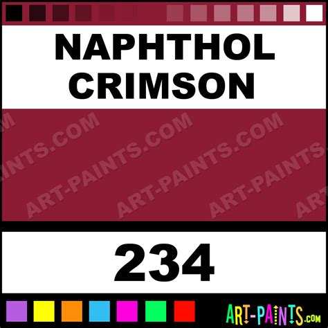 naphthol crimson brera acrylic paints 234 naphthol crimson paint naphthol crimson color