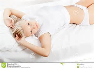laying on bed stock image image 26382051