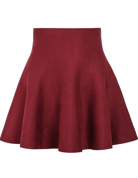 high waist ruffle skirt shein sheinside