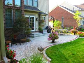Extended Patio Ideas by Extending Concrete Patio With Pavers Porches Pinterest