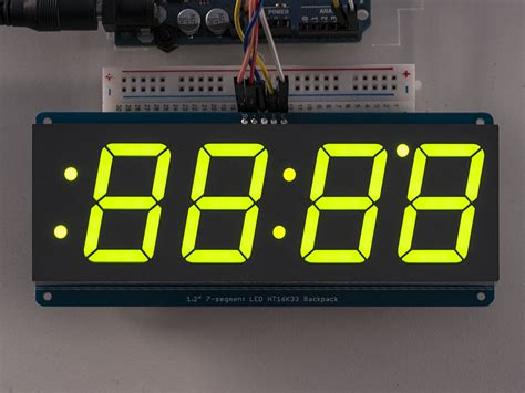 7 Segmen Seven Segment Led Display 1 Digit Common Cathode 056 adafruit 1 2 4 digit 7 segment display w i2c backpack