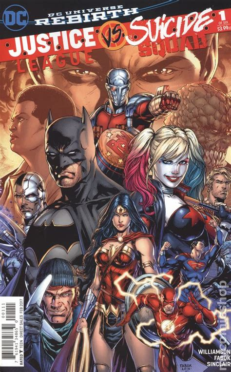 justice books justice league vs squad 2016 comic books